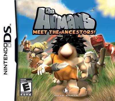 The Humans - Meet the Ancestors! DS coverM (CJ3E)