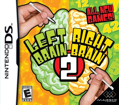 Left Brain, Right Brain 2 DS coverM (CKBE)