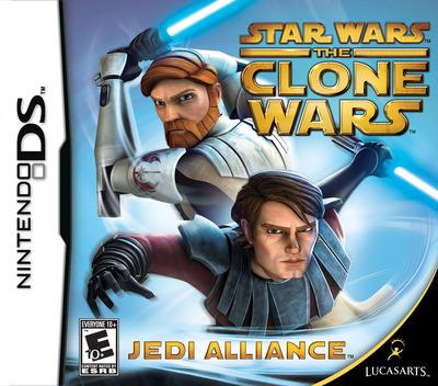 Star Wars - The Clone Wars - Jedi Alliance DS coverM (CLWE)