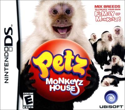Petz - Monkeyz House DS coverM (CM8E)