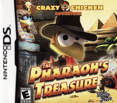 Crazy Chicken Adventure - The Pharaoh's Treasure DS coverM (CM9E)
