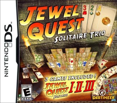 Jewel Quest - Solitaire Trio DS coverM (CNAE)