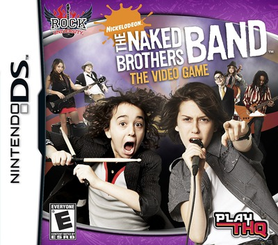 The Naked Brothers Band - The Video Game DS coverM (CNBE)