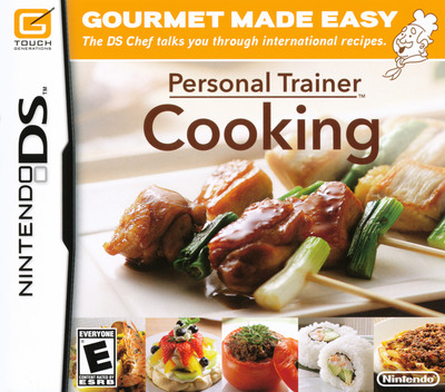 Personal Trainer - Cooking DS coverM (CNVE)