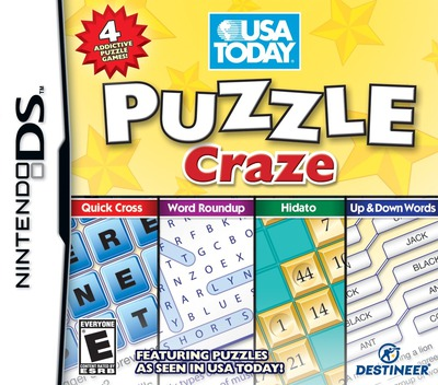 USA Today Puzzle Craze DS coverM (CPFE)