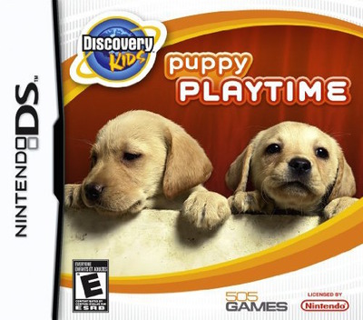 Discovery Kids - Puppy Playtime DS coverM (CPHE)