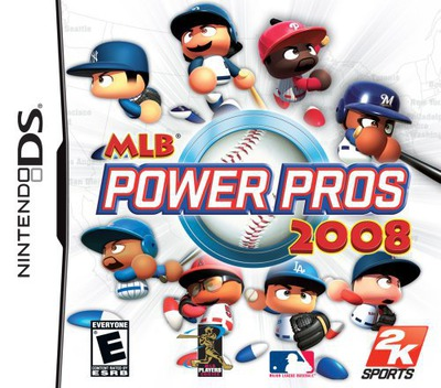 MLB Power Pros 2008 DS coverM (CPPE)