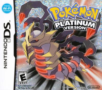 Pokémon - Platinum Version DS coverM (CPUE)