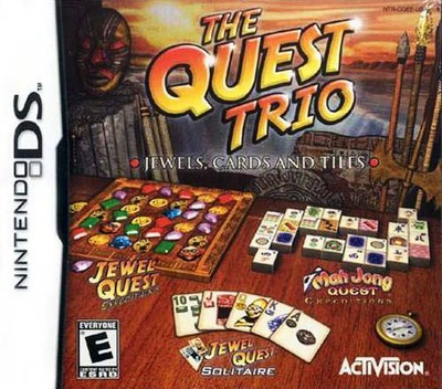 The Quest Trio - Jewels, Cards and Tiles DS coverM (CQEE)