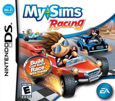 MySims - Racing DS coverM (CQRE)