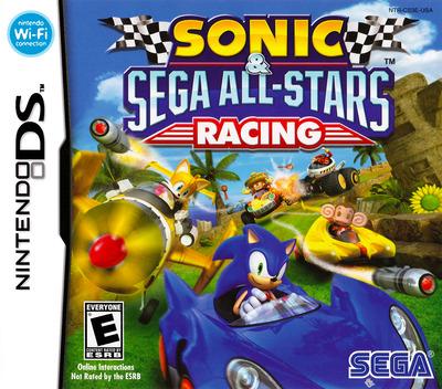 Sonic & Sega All-Stars Racing DS coverM (CS3E)