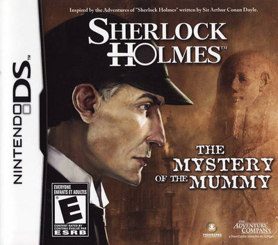 Sherlock Holmes - The Mystery of the Mummy DS coverM (CS6E)