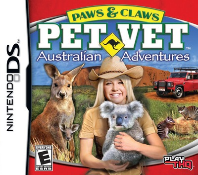 Paws & Claws - Pet Vet - Australian Adventures DS coverM (CTDE)