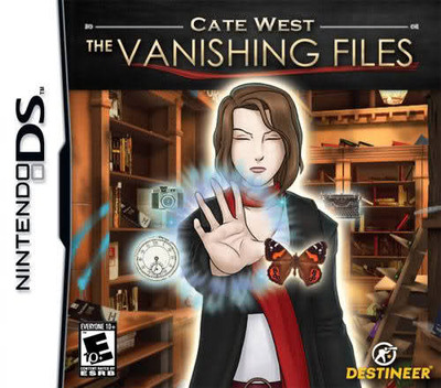 Cate West - The Vanishing Files DS coverM (CWFE)