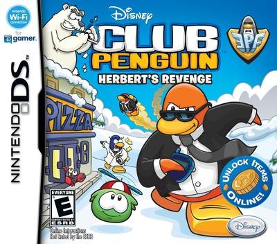 Club Penguin - EPF - Herbert's Revenge DS coverM (CY9E)
