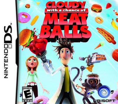 Cloudy with a Chance of Meatballs DS coverM (CZAE)