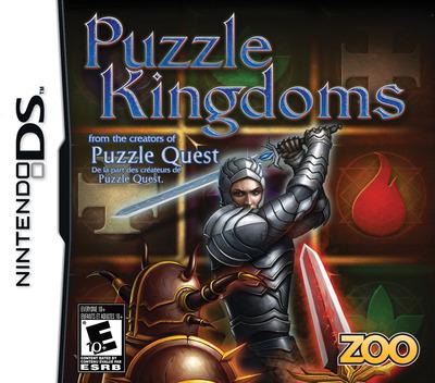 Puzzle Kingdoms DS coverM (CZNE)
