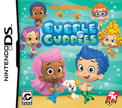 Bubble Guppies DS coverM (TBGE)