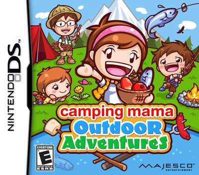Camping Mama - Outdoor Adventures DS coverM (TCME)