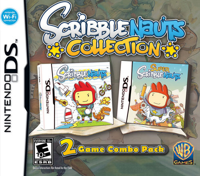 Scribblenauts Collection DS coverM (TCSE)