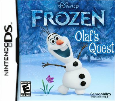 Disney Frozen - Olaf's Quest DS coverM (TFBE)