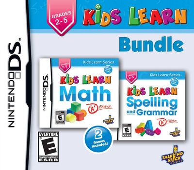 Kids Learn - Math and Spelling Bundle DS coverM (TKLE)