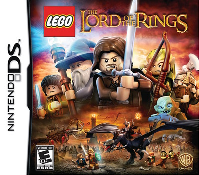 LEGO The Lord of the Rings DS coverM (TLRE)