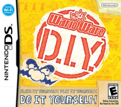 WarioWare - D.I.Y. DS coverM (UORE)