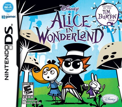 Alice in Wonderland DS coverM (VALE)