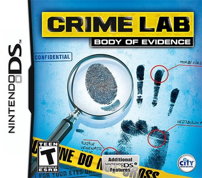 Crime Lab - Body of Evidence DS coverM (VAOE)