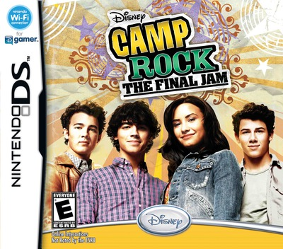 Camp Rock - The Final Jam DS coverM (VCME)