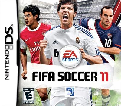 FIFA Soccer 11 DS coverM (VELE)