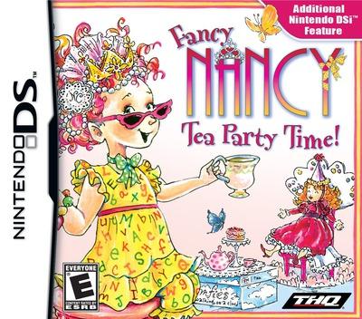 Fancy Nancy - Tea Party Time! DS coverM (VFNE)