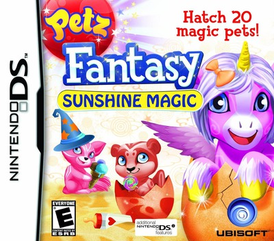 Petz Fantasy - Sunshine Magic DS coverM (VFZE)