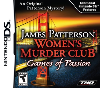 James Patterson Women's Murder Club - Games of Passion DS coverM (VMCE)
