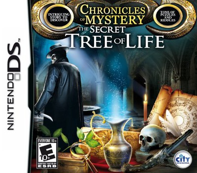 Chronicles of Mystery - The Secret Tree of Life DS coverM (VMYE)