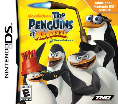 The Penguins of Madagascar DS coverM (VPEE)