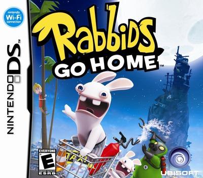 Rabbids Go Home - A Comedy Adventure DS coverM (VRGE)