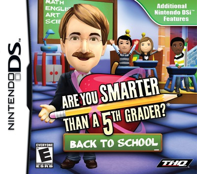 Are You Smarter than a 5th Grader - Back to School DS coverM (VS5E)
