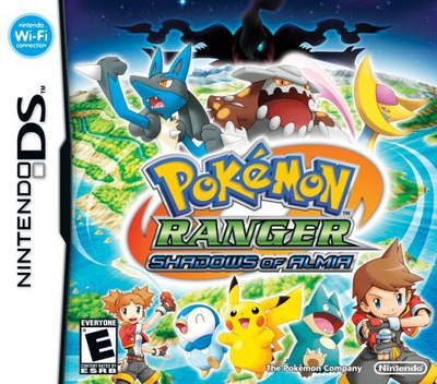 Pokémon Ranger - Shadows of Almia (Demo) DS coverM (Y4UE)