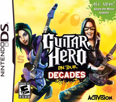Guitar Hero - On Tour - Decades (Demo) DS coverM (Y56E)