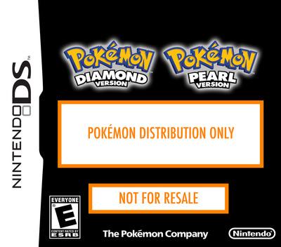 Dragonite Distribution 2008 DS coverM (Y6DE)