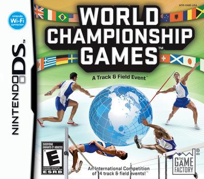 World Championship Games - A Track & Field Event DS coverM (YA8E)
