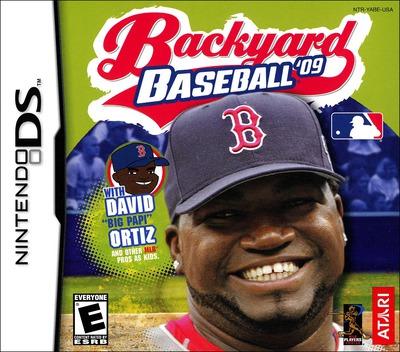 Backyard Baseball '09 DS coverM (YABE)