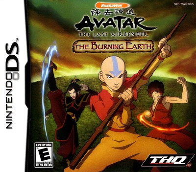 Avatar - The Last Airbender - The Burning Earth DS coverM (YAVE)