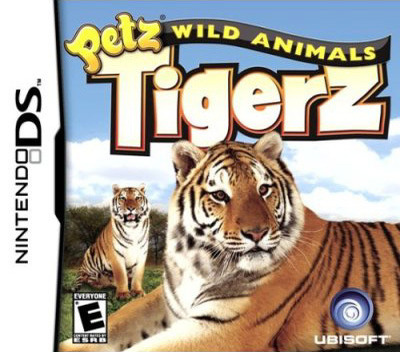 Petz - Wild Animals - Tigerz DS coverM (YCIE)