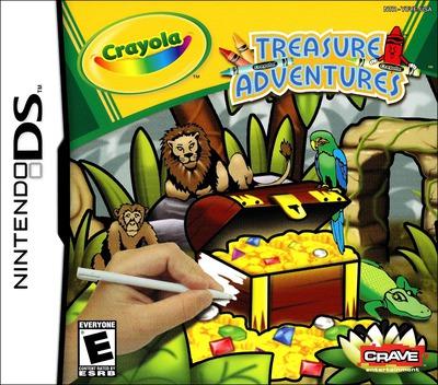 Crayola Treasure Adventures DS coverM (YCYE)