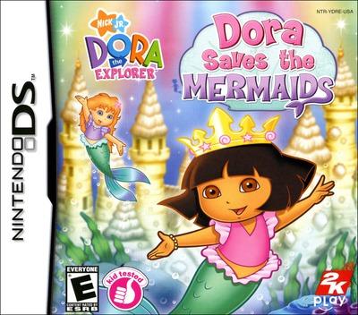 Dora the Explorer - Dora Saves the Mermaids DS coverM (YDRE)