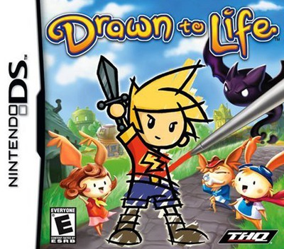 Drawn to Life DS coverM (YDWE)