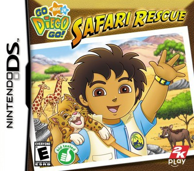 Go, Diego, Go! - Safari Rescue DS coverM (YEQE)